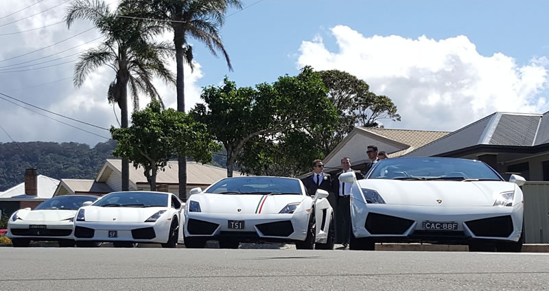 Seriously cool Sydney wedding cars