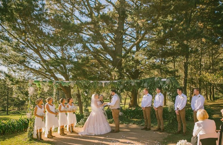 Romantic Southern Highlands Wedding Venue