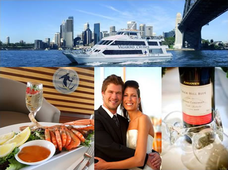 Enjoy a Magical Sydney Harbour Wedding with Vagabond Cruises!